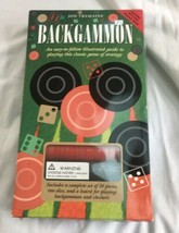 Joe Tremaine Backgammon Easy To Follow Illustrated Strategy Game New In Box - $25.98