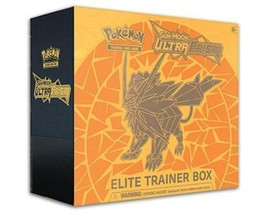 Pokemon TCG Ultra Prism Elite Trainer Box Dusk Mane Necrozma Sun & Moon Cards - $47.95