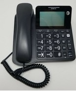 AT&T CL2940 corded phone - speaker extra large LCD display very good con... - $6.92