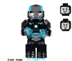 Sale Super Hero Armored Iron Man MG Building Block Brick Figures For Chi... - $0.90