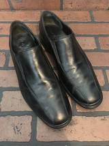 Cole Haan Air Stylar Two Gore Slip On Loafers Black Leather Size 9.5 - $47.04