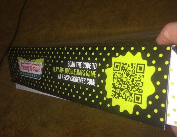 30th Anniversary Krispy Kreme Doughnuts GHOSTBUSTERS Themed Box Doughnut