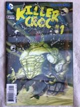 BATMAN & ROBIN #23.4 3D Lenticular Cover KILLER CROC #1 VARIANT DC NEW 5... - $6.92