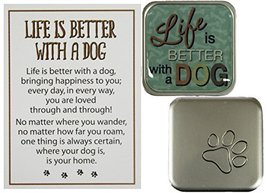 Dog Lovers Life Is Better With A Dog Pocket Charm w/ Story Card (Better ... - £3.01 GBP