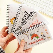 4 pcs/Lot Mini sashimi week plan memo book 80 sheets weekly daily planne... - $54.68 CAD