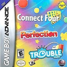 Connect Four/Perfection/Trouble (Nintendo Game Boy Advance, 2005) CART ONLY - $3.76