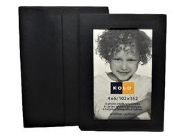 Kolo Photo Cards and Envelopes, Black, Set of 6