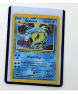 Gyarados 6/102 Holo Foil Rare Base Set Pokemon Card Near Mint - $69.99