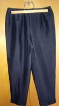 Talbots 100% Pure Silk Black Capri Pants Sz 12 EUC - $18.50