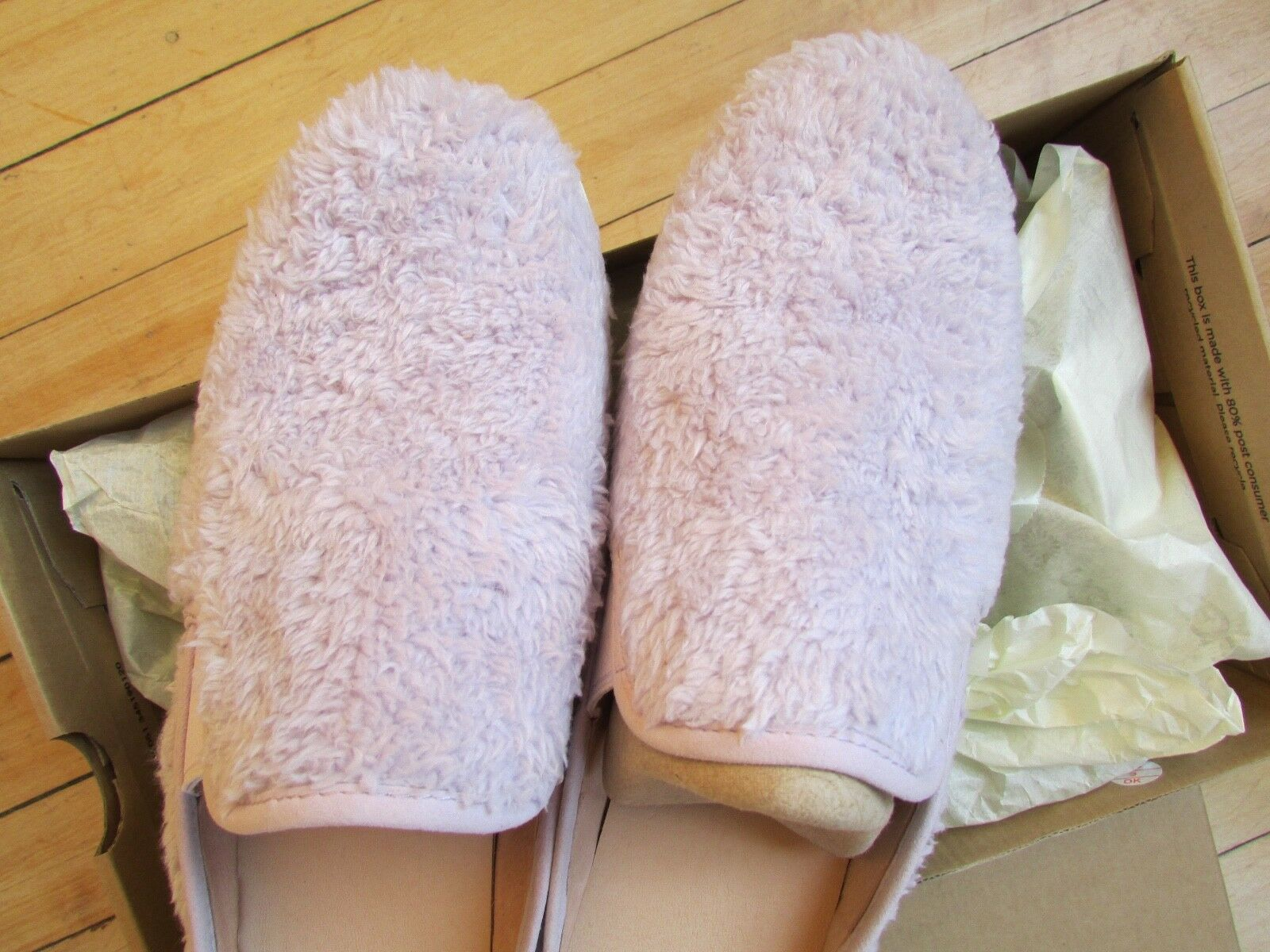 UGG Slippers Luci Slip On Sneakers Lavender fog Size 11 NEW image 4