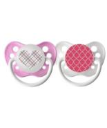 Girls Ulubulu Pattern Binky Set - Heart & Moroccan - 6-18 months - Girl ... - $12.99