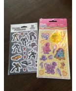 MY LITTLE PONY New Package Stickers My Little Pony Transformers NEW - $5.89