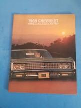 1969 Vintage 28 Page Chevrolet Brochure. - $14.01