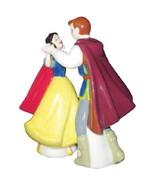 Disney's Snow White and Prince Dancing Ceramic Salt & Pepper Shakers Set... - $30.95