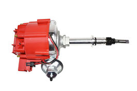 Chevy Late Inline 6 Cylinder HEI  Distributor 230 250 292 Red 65K Coil image 9