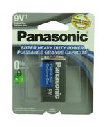 Panasonic Batteries 9V 1-Pack Super Heavy Duty Battery   - $4.86