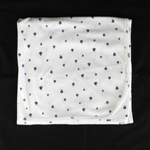 Carters Baby Blanket White Navy Blue Sailboats Cotton Knit Receiving Swa... - $24.99