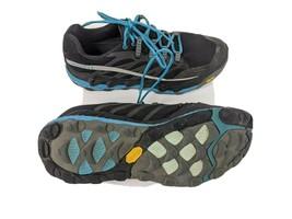 Merrell Womens US 10.5 EUR 42 Black Algiers Blue Trail Running Shoes (J0... - $26.18