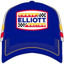 """OLD VTG Chase Elliott #9 Racing Trucker """"patch throw back"""" white/blue me... - $25.00"""