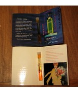 Vtg Christian Dior Dioressence Diorissime Perfume Concentration Sample S... - $38.69