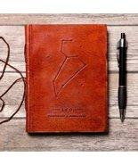 Leo Zodiac Handmade Leather Journal - $38.00