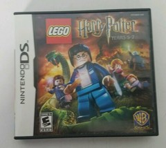 3DS Nintendo Lego Harry Potter Years 5-7 2011 Game Manual Case Complete - $14.84