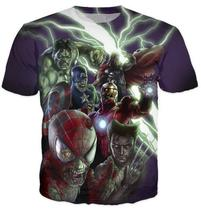 Marvel Zombies The Avengers Crewneck t shirt Women Men Spider-Man Iron M... - $18.87+