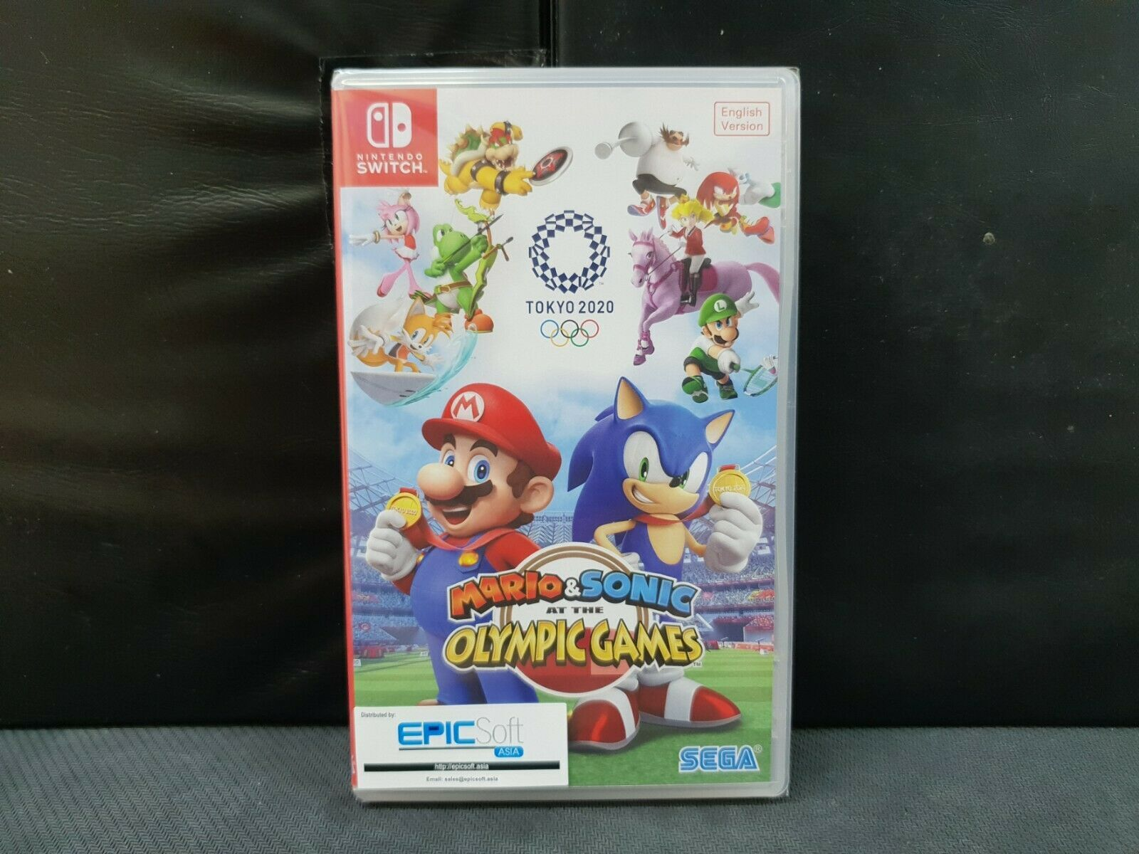 (ASIA ENGLISH) Nintendo Switch Mario & Sonic Olympic Games Tokyo 2020(Brand New) image 2