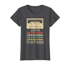 Funny Shirts - Vintage Retro Made In June 2002 16th Birthday Gift 16 yea... - $19.95+