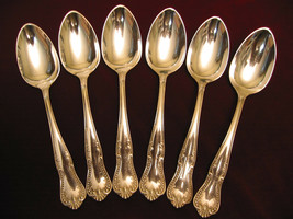 CHESTER Silverplate Oval Soup Spoon Set Towle 1888 Victorian Flatware Lo... - $54.44