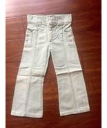 Vintage Billy the Kid Studded Pocket Light Wash KIDS DENIM JEANS RARE HT... - $494.99