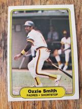1982 Fleer #582 ~ Ozzie Smith ~ San Diego Padres ~ Baseball Card ~ HOF - $0.97