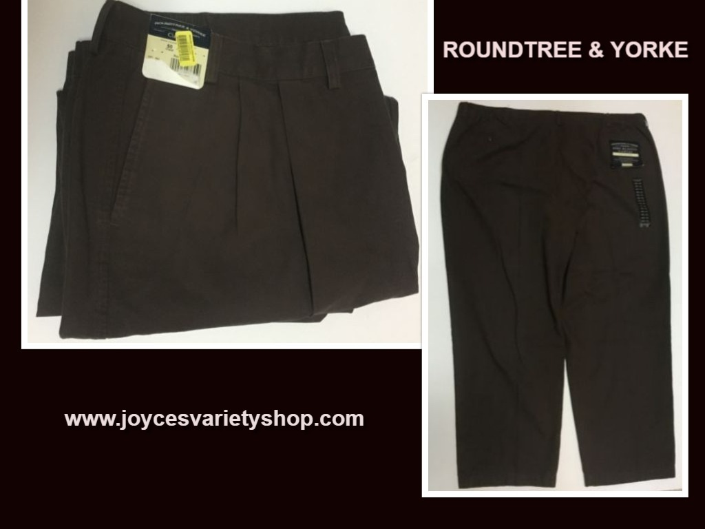 Roundtree brown pants web collage