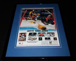 Chris Pronger NHL Hitz 2003 PS2 Xbox Framed 11x14 ORIGINAL Advertisement - $22.55