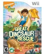 Go, Diego, Go!: Great Dinosaur Rescue - Nintendo Wii - $41.75