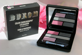 New Buxom Eye Shadow Color Choreography 5 Shade Pallette Burlesque Pink ... - $18.99