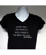 Jack Daniels Every Day We Make It The Best We Can T Shirt Womens Juniors... - $21.73