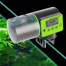 Fish Eating Feeder Machine Digital Fish Tank Aquarium Electrical Plasti... - $24.60