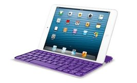 Logitech Ultrathin Keyboard Cover Purple for iPad Mini (920-005502) - $18.62