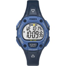 Timex IRONMAN® Classic 30 Mid-Size Watch - Blue - £43.08 GBP