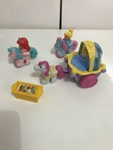 Fisher-Price Little People Princess Klip Klop Castle Figure Cinderella C... - $24.70