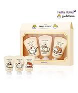 [Holika Holika] Gudetama Lazy & Joy Pudding Hand Cream 30g 3 Gift Set - $14.17