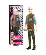 "Year 2019 Barbie Fashionistas 12"" Doll #154 - Blond Asian Model KEN Plai... - $29.99"