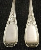 Rare Circa 1852 Rogers Tuscan Set of 7 Silver Plate Dinner Forks-166 Years Old! - $49.45
