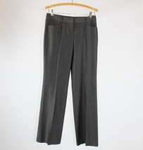 Gray stretch EXPRESS mid-rise dress pants 2 - $19.99