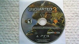 Uncharted 3: Drake's Deception -- G.O.T.Y. Edition (Sony PlayStation 3, 2012) - $4.75