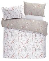 Floral Flores Hierba Rosa Gris Super King Duvetcover &bedspread 230X200CM - £78.05 GBP