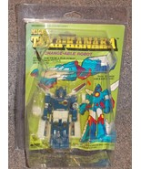 Vintage 1984 Mighty Taka Kanaka Changeable Robot New In Package In Hard ... - $59.99