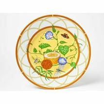 """Hermes La Siesta Dessert Plaque 8.75 """" Porcelaine 22.5 CM Vaisselle Fleu... - $274.67"""