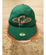 Vintage Miami Dolphins Sports Specialties NFL Snapback hat NEW NWT Deads... - $18.69